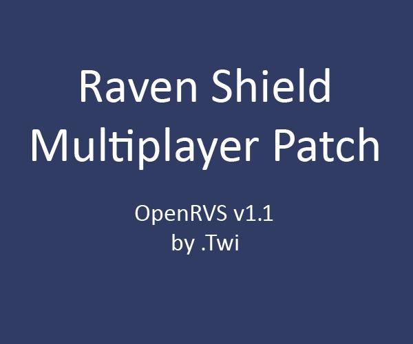 OpenRVS patch v1.1
