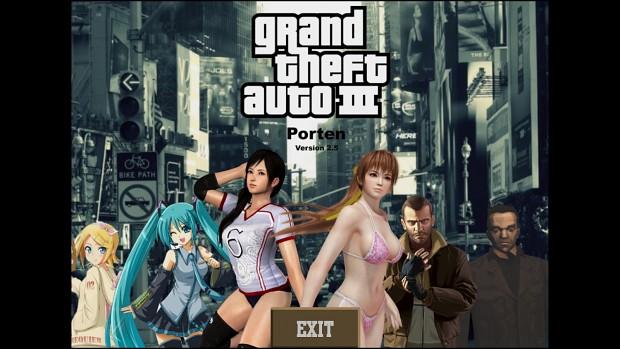 GTA 3 Porten Mod Version 2.5