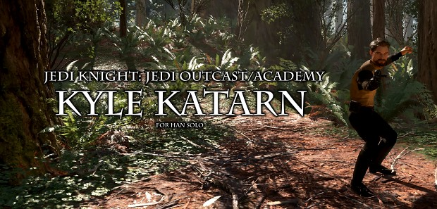 Jedi Knight Jedi Outcast Academy Kyle Katarn BETA