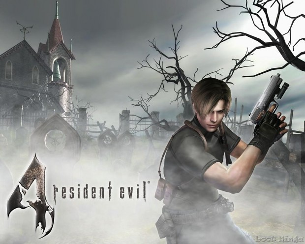 Resident Evil 4 High Poly Weapons