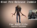 Blue Suit Zombie Recreation