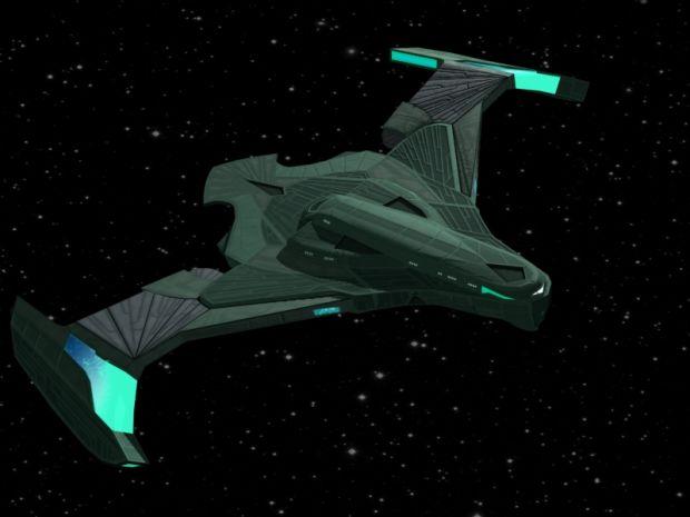 RSE Pkor Bird of Prey - Star Trek Bridge Commander