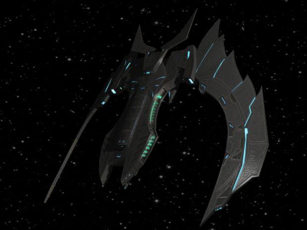 Reman Saif battlecruiser - Legacy