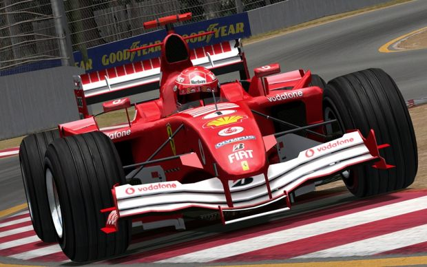 CTDP F1 2005 for rFactor 1.2