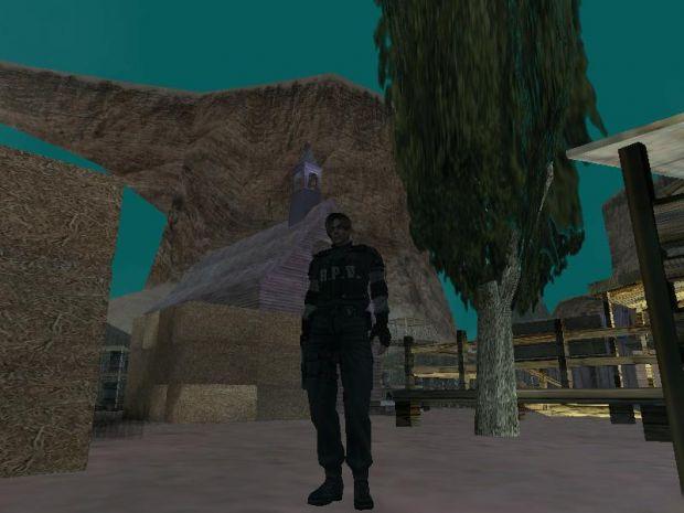 Leon RPD Suit Player Model