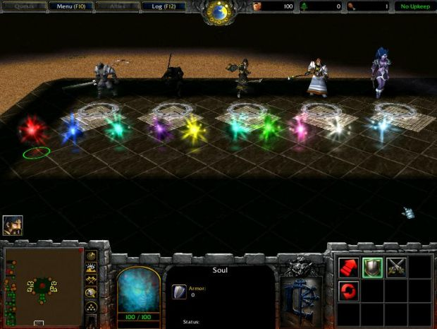 Warcraft 3 Ninja Hero Arena Map