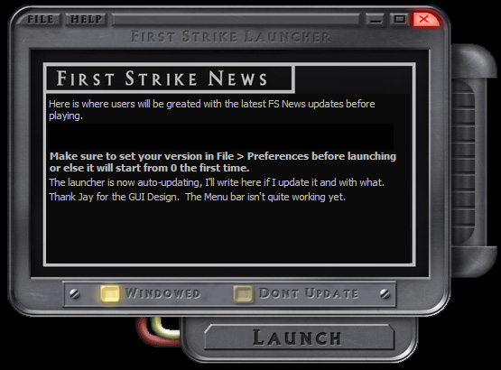 First Strike Launcher