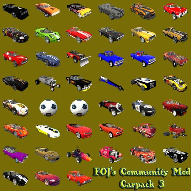 Carpack 3 for FOJ Community Mod