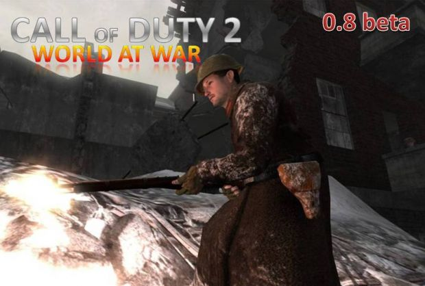 Beta ver 0.8 of the CoD 2 World at War mod