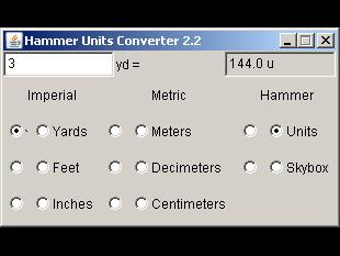 Hammer Units Converter 2.2