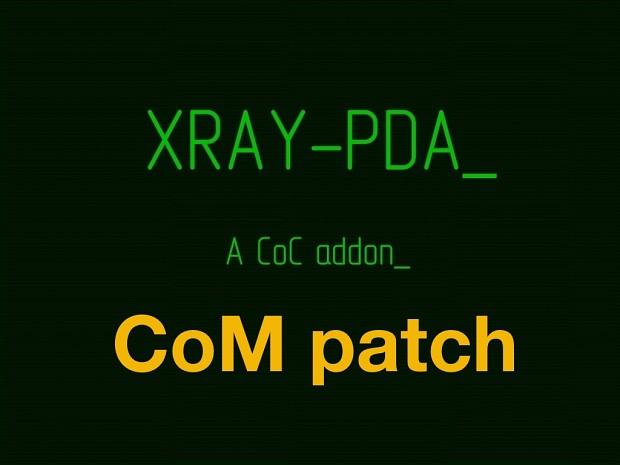 XRay-PDA 0.7.11 + Call of Misery