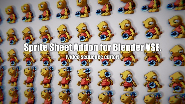 Sprite Sheet Addon for Blender VSE