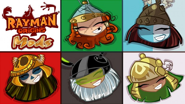 Rayman Origins Princess Mods