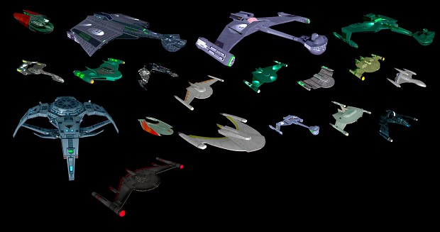 Polaris Sector Star Trek TOS Romulan ships