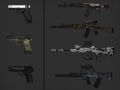 Battlefield 2 Weapon Skins for BF4 Models