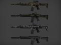 BF4 AK5C SKINS