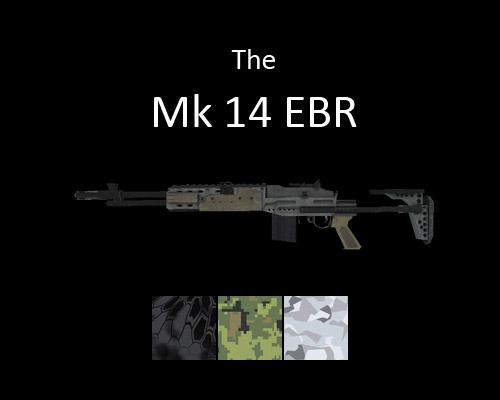 MK14 Enhanced Battle Rifle for multiplayer servers