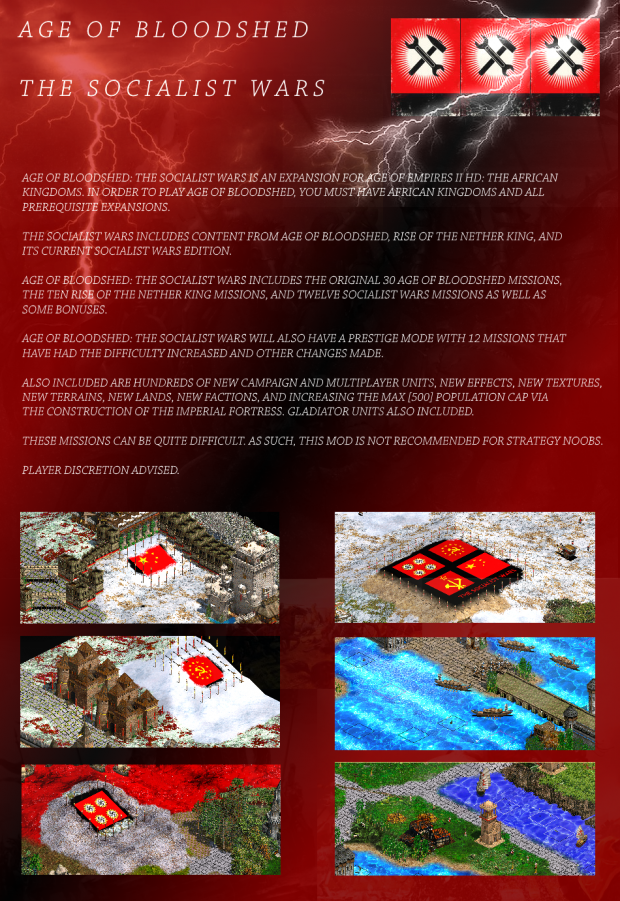 Age of Bloodshed 3.24 The Socialist Wars