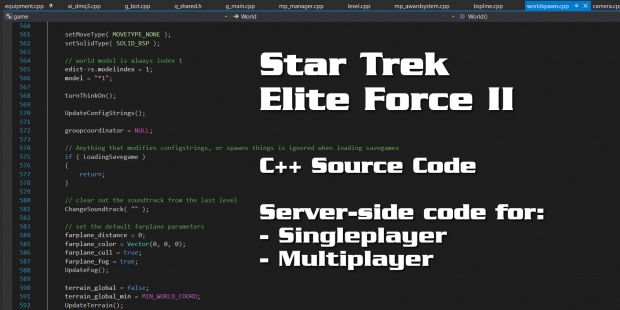 Elite Force II - Fixed C++ Game Source Code