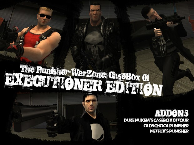 CaseBox 01: EXECUTIONER EDITION [standalone]