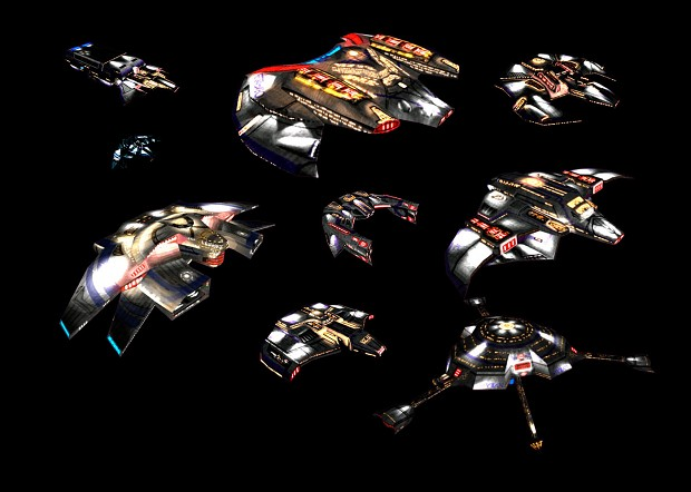 Polaris Sector Star Trek TMP ISC ships