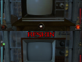 "19"" TV reskin - damaged"