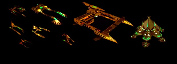 Polaris Sector Star Trek TMP Lyran ships