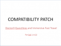 Patch: DoctorX Questlines & Immersive Fast Travel