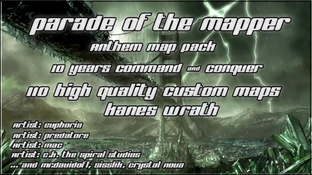 10 Years Command & Conquer Anniversary - 110 Map's