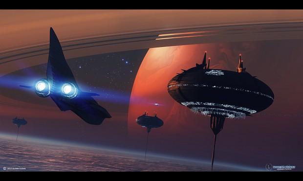 Mass Effect Pinnacle Station (English/Spanish)