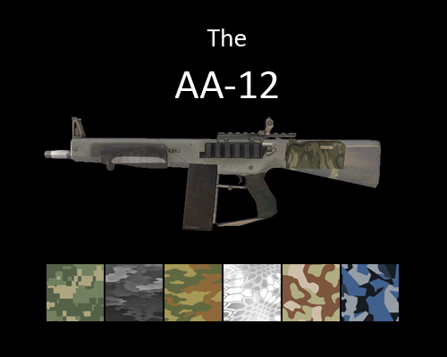 AA-12 Shotgun for multiplayer servers
