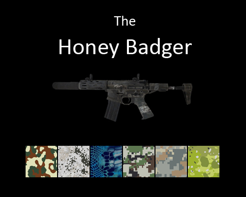 Honey Badger PDW for multiplayer servers