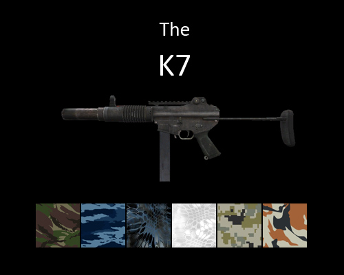K7 Submachine Gun for multiplayer servers