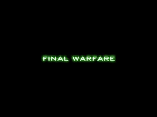 Final Warfare early access edition