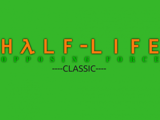Half-Life: Opposing Force Classic 1.0