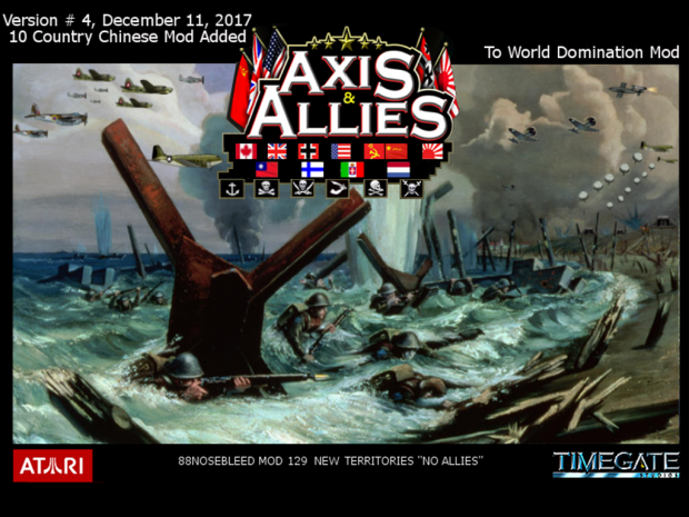 Axis & Allies RTS 10 Country Version # 4