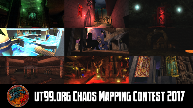 ut99.org Chaos Mapping Contest 2017 Map Pack
