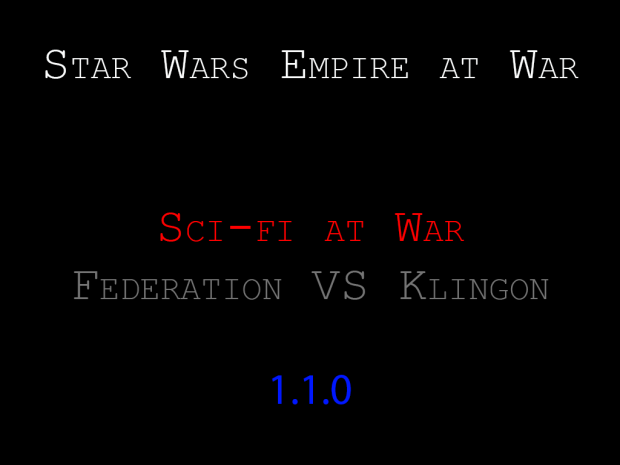 Star Wars Sci-Fi at War: Silver Edition 1.1.0