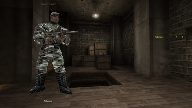 Camo Soldier Thug Skin
