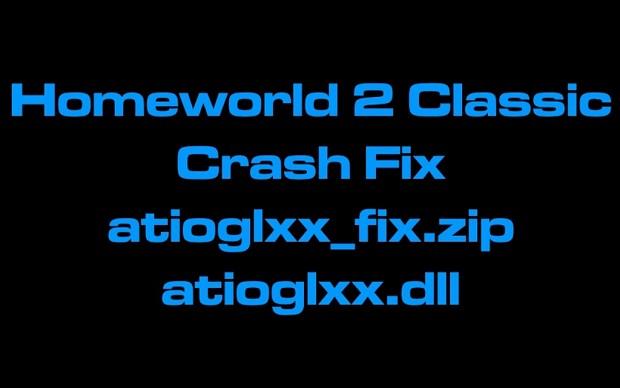 Homeworld 2 Classic Crash Fix atioglxx_fix.zip
