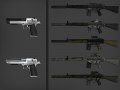 BF3 G3A3 &  BF4 Deagle Skins