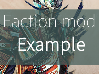 Faction mod example