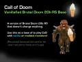Vanillafied CoD Base (blank Brutal Doom 20b R5)