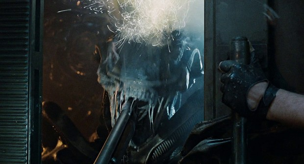 Improved Shotgun (vs Alien)
