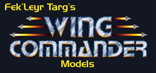 """Fek'Leyr Targ's """"Wing Commander"""" Models"""
