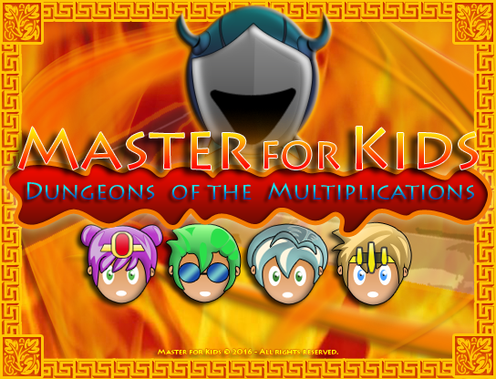 Master for Kids - Dungeons of the Multiplications
