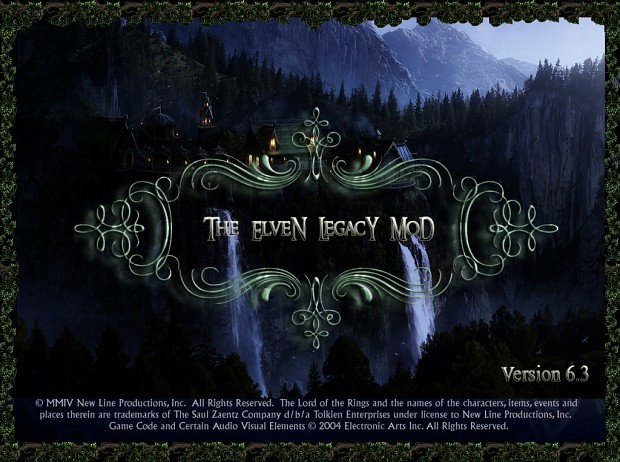 Releases new version The Elven Legacy Mod 6.3