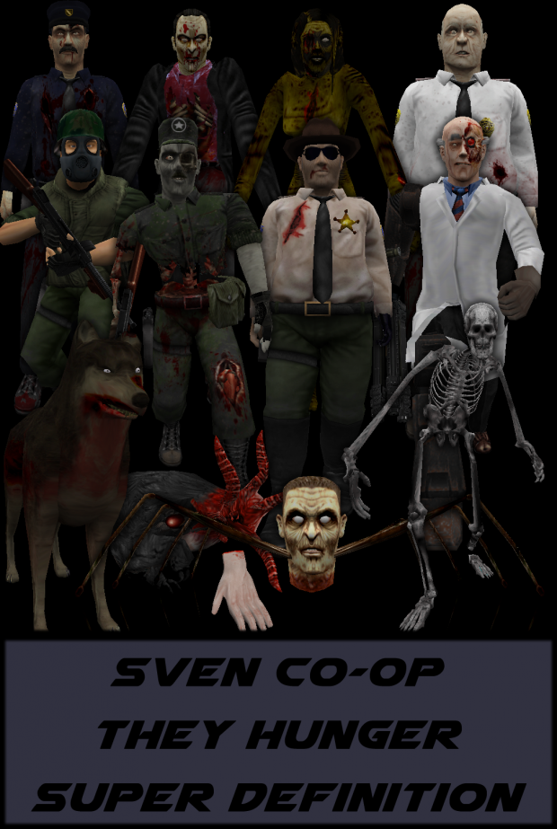 H3000 Sven Co Op They Hunger SD Pack