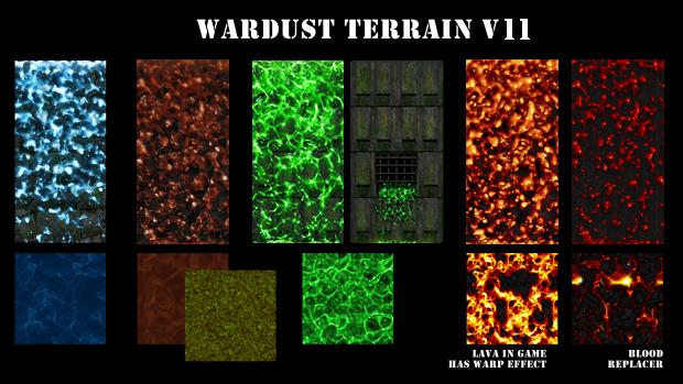 WARDUST terrain v11.1