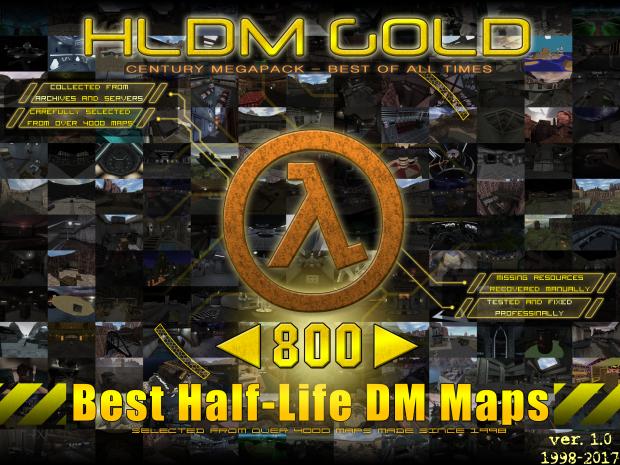 Half-Life DM GOLD century megapack